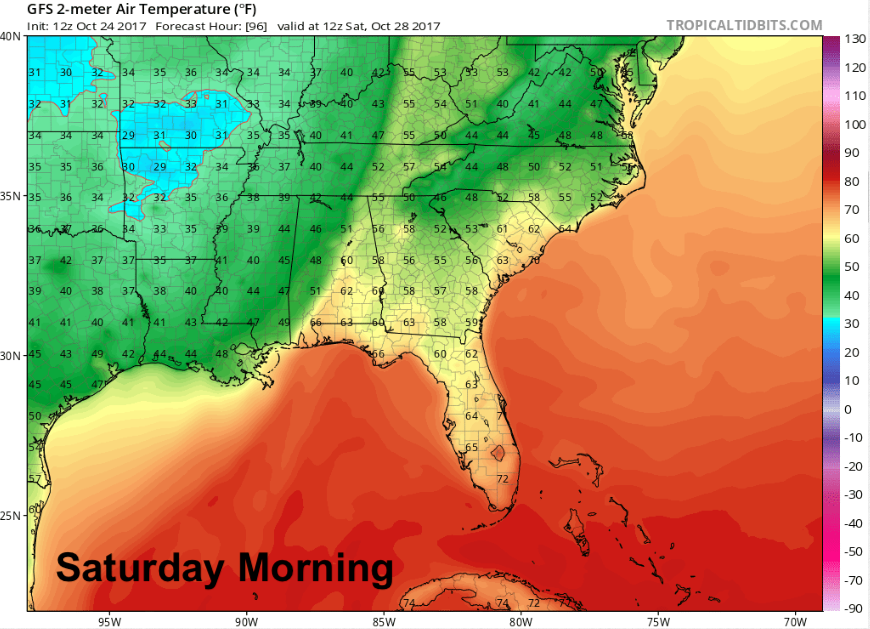 Frost Advisory For Morning Roller Coaster Mainly Cooler - Us frost line map