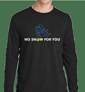 Dry Air Monster DAM Long Sleeve Black Shirt - Nashville Severe Weather