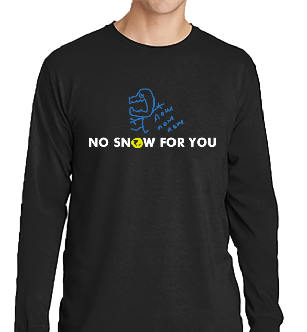 Dry Air Monster DAM Long Sleeve Black Shirt - Nashville Severe Weather