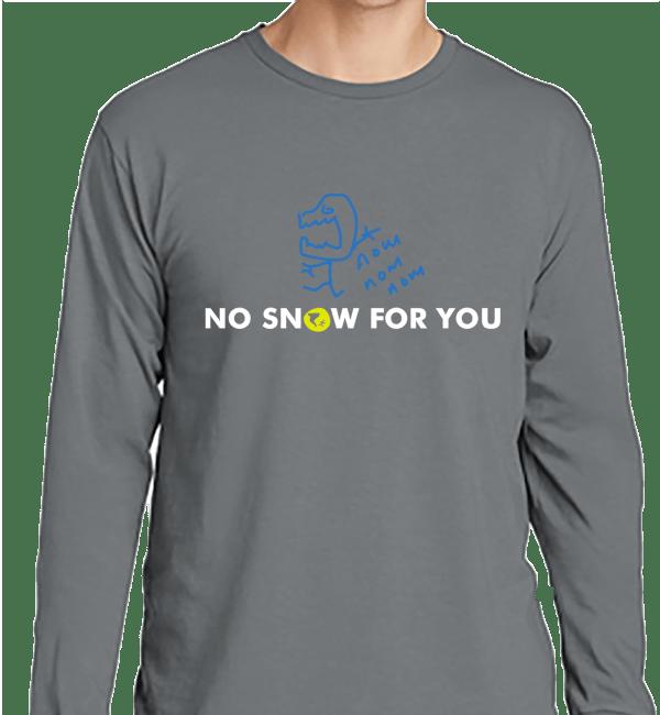 Dry Air Monster DAM Long Sleeve Grey Shirt - Nashville Severe Weather